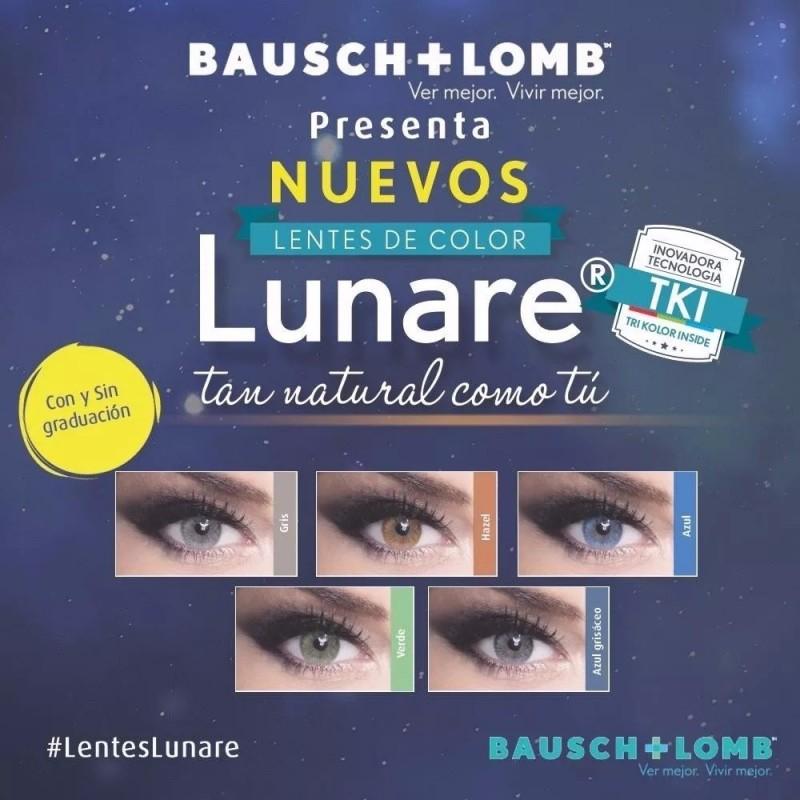 f4f3d9b905 Lentes de Contacto Lunare Graduados de Bausch + Lomb , Tri Kolor